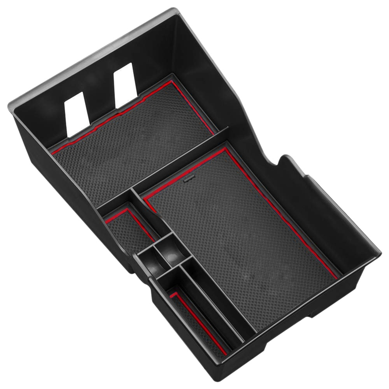 Center Console Storage Holder For Tesla Model 3 Storage Armrest Box With Coin Card Sun Glasses Box Area