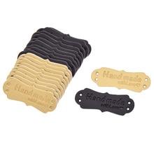 Простые кожаные этикетки ручной работы с буквами для рукоделия пришитые украшения из ткани женские сумки джинсы ярлыки аксессуары материалы