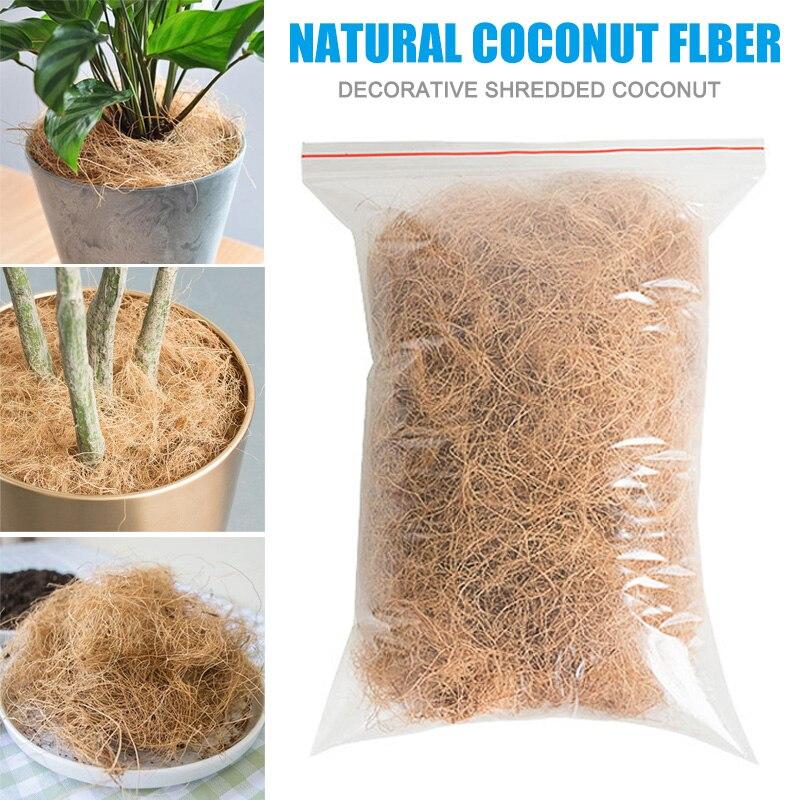Кокосовое волокно шелухи орхидеи, украшение для домашних животных, защита от насекомых, для сохранения температуры почвы GHS99