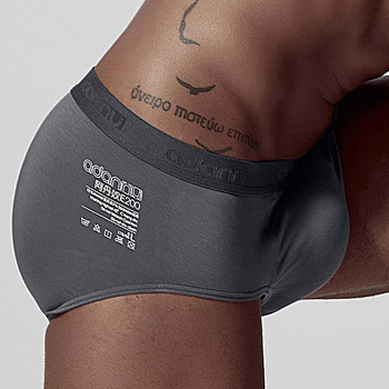 Sexy Jockstrap Gay Men Underwear Briefs Modal Comfortable Slip Biniki Lingerie Cueca Male Panties AD307 - discount item  25% OFF Men's Underwears