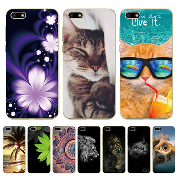 For Huawei Y5 2018 Case 5.45 Inch TPU Phone Case For Huawei Y 5 Y5 Prime 2018 Cover Silicone Case on Huawei Y5 Lite 2018 DRA-LX5 image