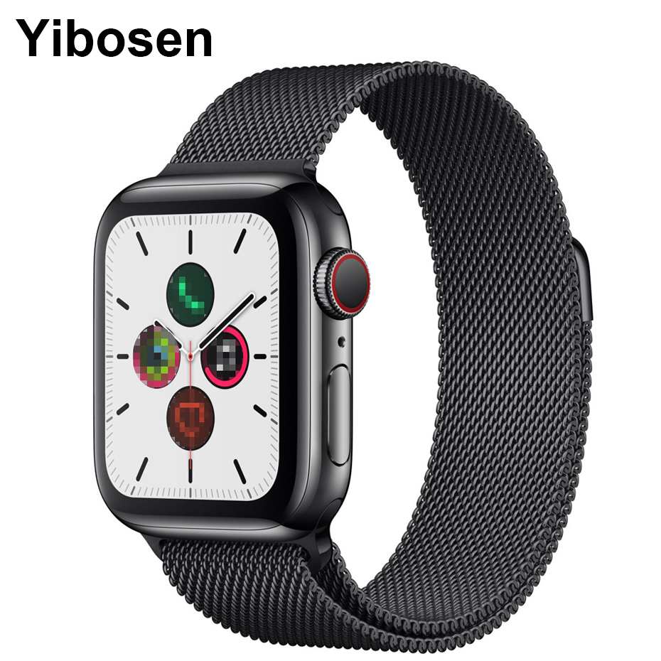 Yibosen Original IWO <font><b>12</b></font> <font><b>Smart</b></font> <font><b>Watch</b></font> ECG Heart Rate Bloood Pressure Monitor 30 <font><b>Watch</b></font> Faces Bluetooth Call Waterproof Smartwatch image