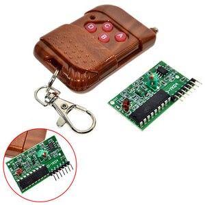 Image 4 - 4 canais 1 conjunto chave de controle remoto sem fio kits módulo receptor ic 2262/2272 315mhz para arduino 5v