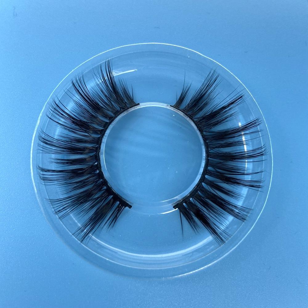 Buzzme KDS06 3D Faux Mink Lashes Dramatic Lashes Natural False Eyelashes Long Makeup Eyelash Synthetic Lash