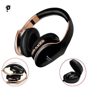 Image 2 - PunnkFunnkหูฟังไร้สายบลูทูธหูฟัง 5.0 Foldablel 3Dสเตอริโอลดเสียงรบกวนชุดหูฟัง/ไมโครโฟนสำหรับโทรศัพท์มือถือPC