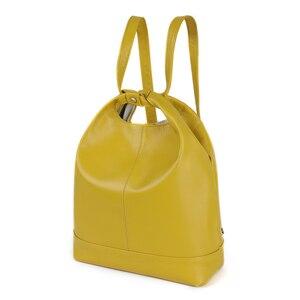 Image 2 - JOGUJOS torebka ze skóry naturalnej moda damska torba na ramię skórzane luksusowe damskie torby z bawełny dla kobiet torebki marki