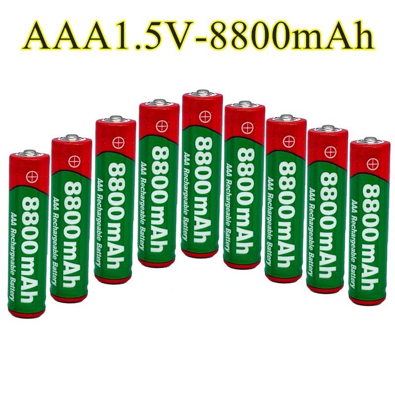 Bateria recarregável aaa 8800 v 1.5 mah de alcalinas drummey da bateria 8800 mah do aaa