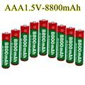 Батарея AAA 8800 мАч, перезаряжаемая батарея AAA 1,5 в 8800 мАч, перезаряжаемая щелочная батарея
