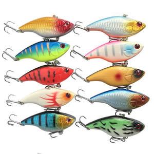 Lures Fishing-Tackle Sinking Crankbait 18g Treble-Hooks Wobber 1PCS Hard-Vib