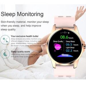 Image 5 - SANDA Full Cảm Ứng Sang Trọng Nam Đồng Hồ Thông Minh Chống Nước Thể Thao Đo Sức Đi Bộ Theo Dõi Nhịp Tim Nữ Đồng Hồ Đồng Hồ Thông Minh Smartwatch