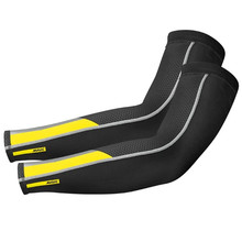 2020Pro Team MAVIC Cosmic Leg Warmers Black UV Protection Cycling Arm Warmer Breathable Bicycle Running Racing MTB Bike sleeves