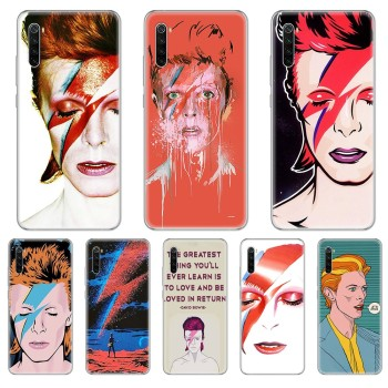 Art david bowie fashion cell cover bumper Transparent Phone Case For xiaomi Redmi 3S 4A 5A 6A 5 Plus 4X 7 8 8a CC9 K20 Pro K30 image