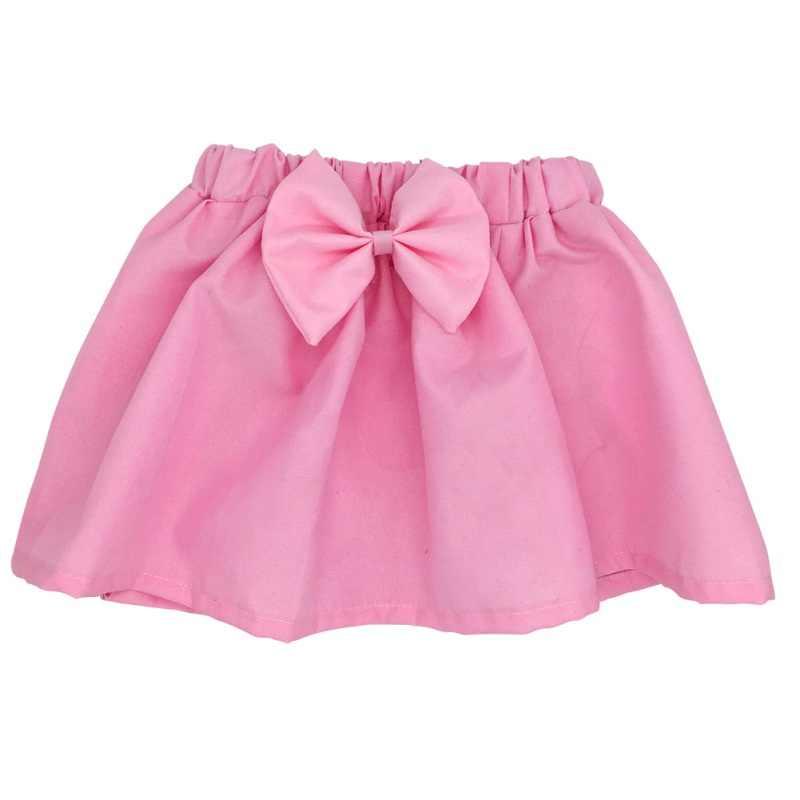Nieuwe Katoen Pasgeboren Baby Kid Mini Bubble Tutu Rok Meisje Leuke Geplooide Pluizige Rok Party Dance Prinses Rok