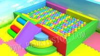 Children Indoor Soft Ball Pool With Two Stairs &Three Slides HZ 20200506