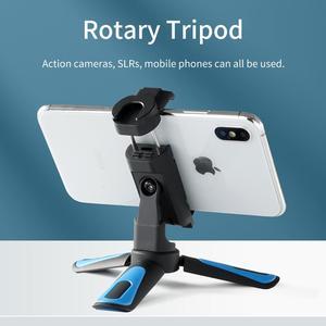 Image 2 - TELESIN Mini Selfie Stick ขาตั้งกล้อง360 ° Ball Head & เย็นรองเท้าคลิปโทรศัพท์สำหรับ GoPro Osmo Action Insta360 iPhone android Monopod