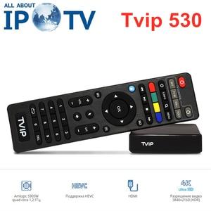 Image 4 - Newest TVIP530 Amlogic S905W TvBox 1GB 8GB  Quad Core TV Box S Box V.530 Youtube 4K Linux OS TVIP 530 PK 410 412 415 Media playe