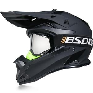 Image 4 - Motosiklet yetişkin motocross Off Road kask ATV kir bisiklet yokuş aşağı MTB yarış kask çapraz kask capacetes