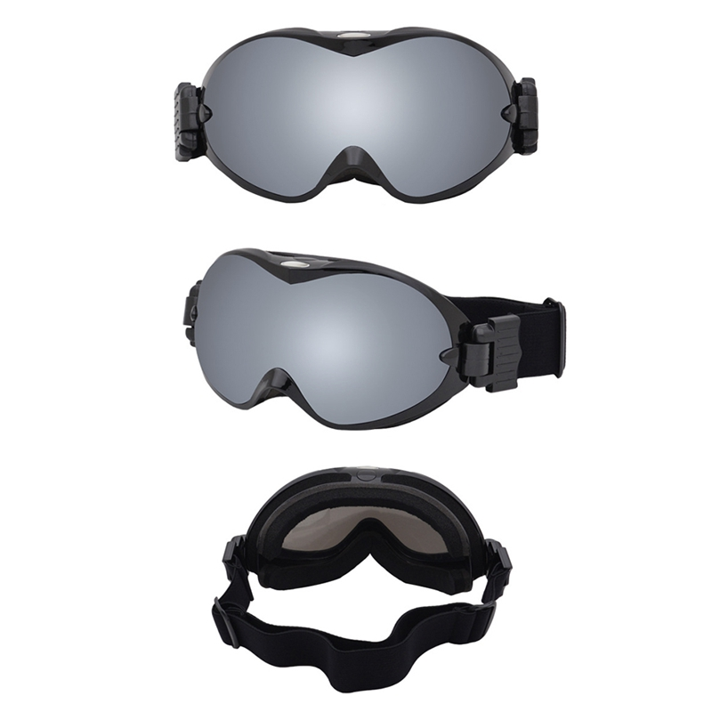 UV400 Windproof Adjustable Breathable Cycling Goggles Outdoor Protective Sports Motorcycle Riding Helmet Glasses Eyewear