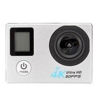 AMS شاشة مزدوجة 4K 1080P الرياضة كاميرا مقاومة للماء الرياضة DV 2.4G التحكم عن بعد الكاميرا الرياضية-في كاميرا فيديو 360 درجة من الأجهزة الإلكترونية الاستهلاكية على