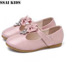 Детская обувь ssai из лакированной кожи для девочек принцессы