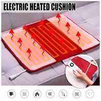 220V Elektrisch Beheizt Pad Wärme Matte Heizung Decke Erwärmung Bett Teppich Füße Kissen Neck Zurück Schulter Schmerzen Relief Körper home Offic