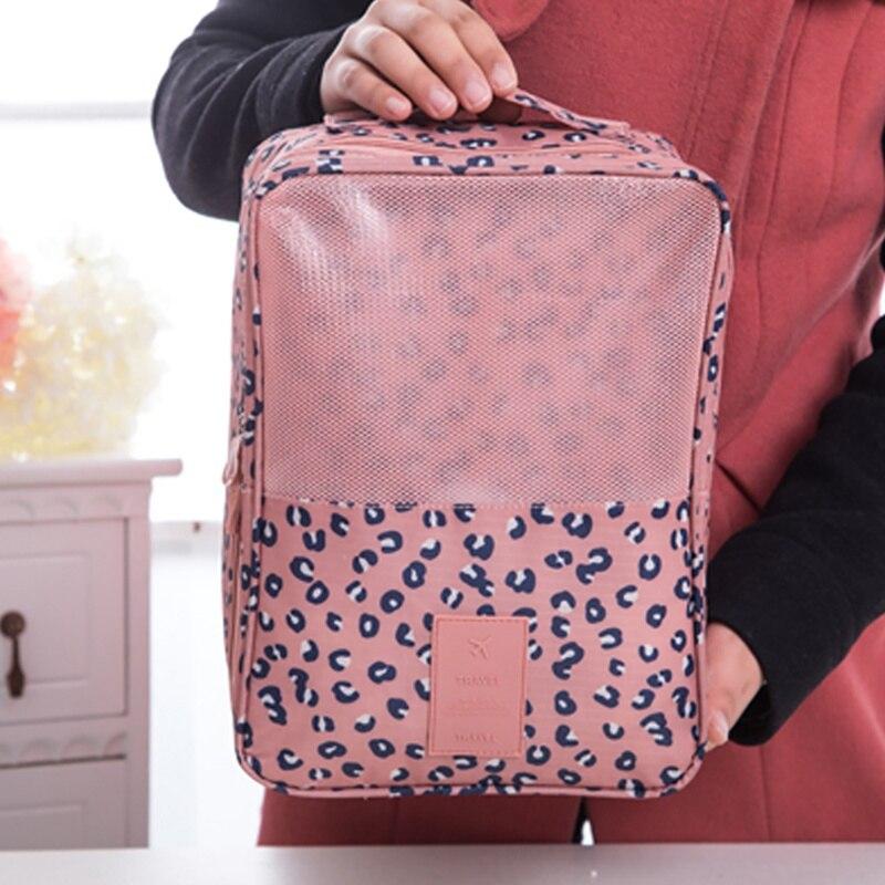 Shoulder Bags Environmental Shopping Bag Shoes Clothes Bag Casual Tote Package Foldable Multifunction Makeup Durable Handbag