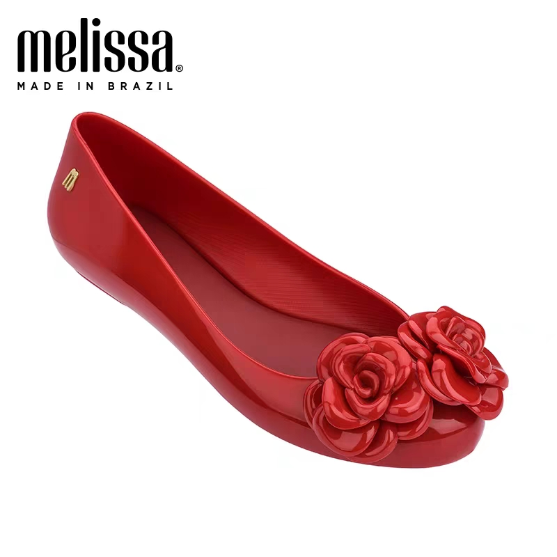 Melissa Space Flower 2020 New Women Flat Sandals Brand Melissa Shoes For Women Jelly Sandals Female Jelly Shoes Mulhe