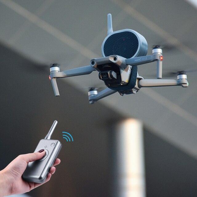 ل ملحقات طائرة بدون طيار مكبر الصوت ل DJI Mavic Mini Pro Air Mavic 2 برو فيمي X8SE X193 SG906 SG907 F11 E520 اللاسلكية مكبر الصوت