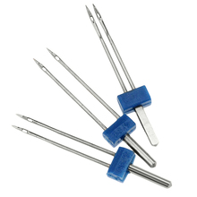 3 шт., 2 мм, 3 мм, 4 мм, растягивающиеся двойные игольные шпильки, швейная машина, инструмент для рукоделия