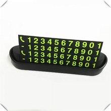 Universal Auto Temporäre Parkplatz Karte Nacht Telefon Nummer für Chevrolet Trailblazer Avalanche 34 West Uplander Orlando Code