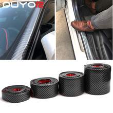 Sticker Lip-Protector Car-Bumper-Strip Soft-Rubber Strip-Kit Auto-Exterior 1M 30mm/50mm-Width