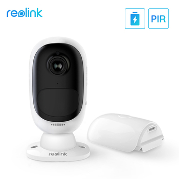 Reolink Argus 2 Battery Camera Wireless Kamera Rechargeable Battery Powered 1080P Full HD Outdoor WiFi Camera Wide View