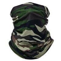 Ветрозащитная трубчатая гетра для шеи, камуфляжная мягкая ткань 1