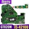XinKaidi X550LN האם GT820 i5-4210U עבור ASUS A550LN R510LN X550LN מחשב נייד האם X550LN Mainboard X550LN האם