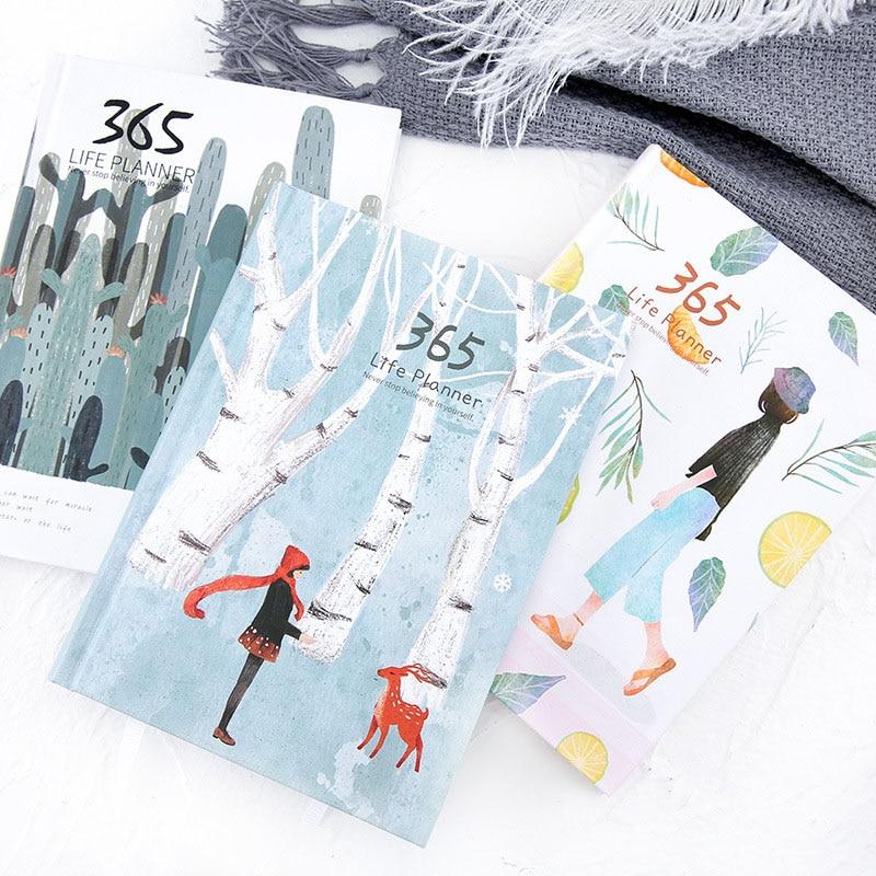 365 hari senarai comel perencana buku nota buku harian halaman - Pad nota dan buku nota - Foto 2