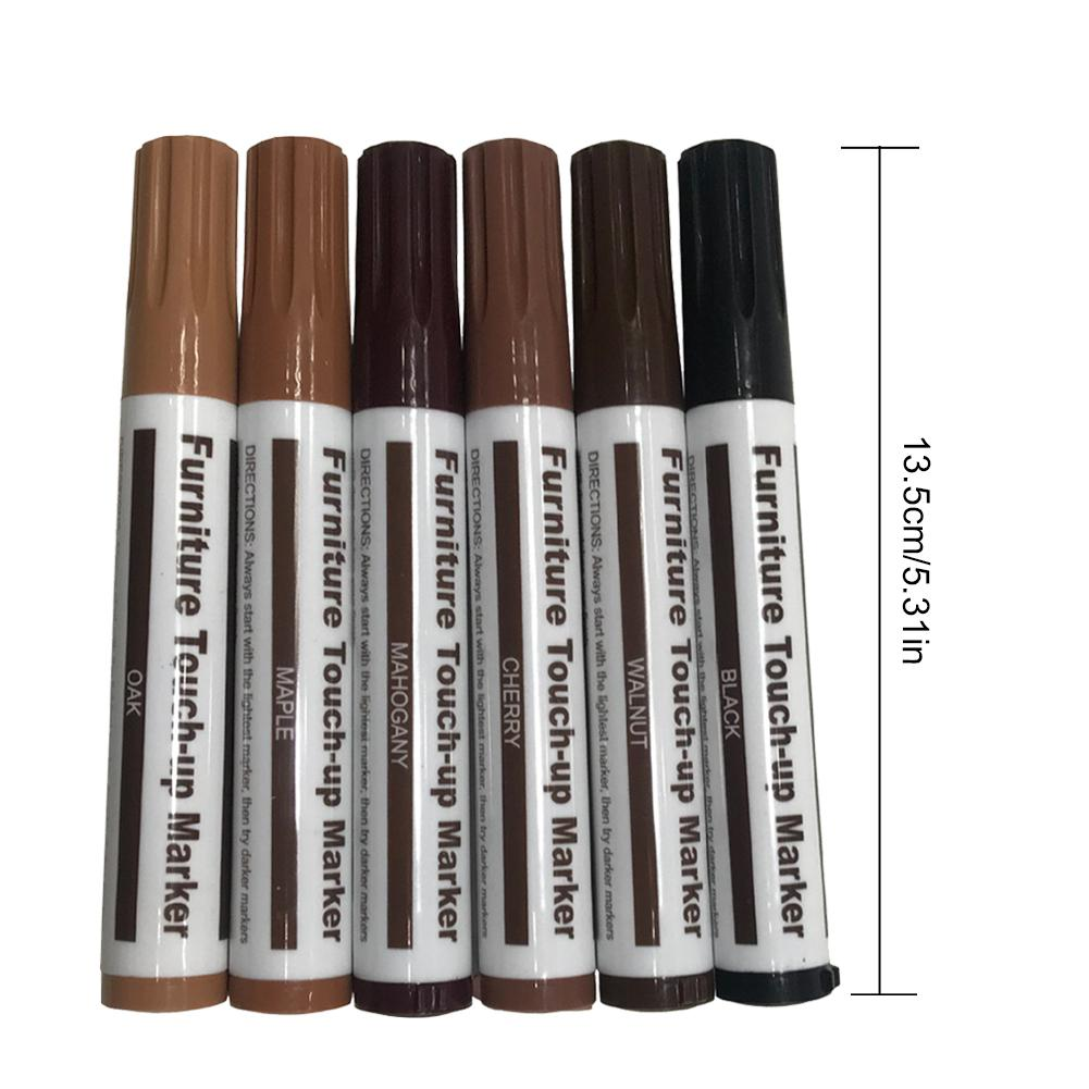 Us 5 67 42 Off Wood Grain Color Correction Pen Furniture Touch Up Floor Repair Scratch Paint Complementary Marker P In