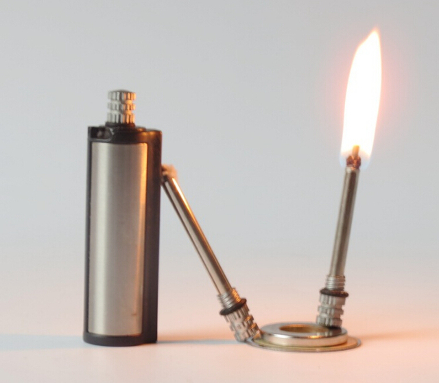 10000 Hair Emergency Fire Starter Flint Match Lighter Metal Outdoor Camping Hiking Instant Survival Tool Safety Durable 3