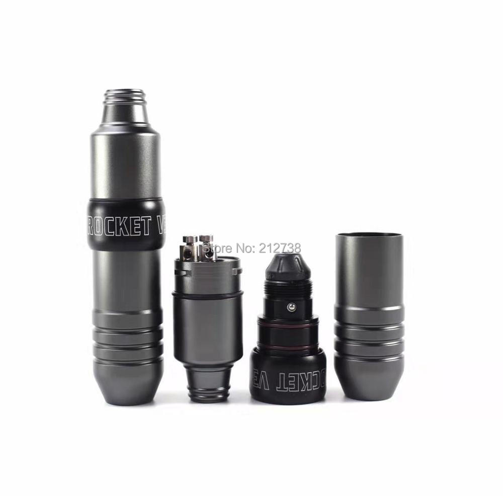 New Rocket V3 Pen Rotary Permanent Makeup & Tattoo Machine Rotary Shader Liner 4 Colors Assorted Tattoo Machine Makeup Equipment