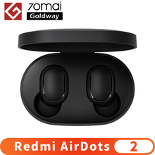 Xiaomi Redmi AirDots 2 kablosuz Bluetooth 5.0 şarj kulaklık Mi gerçek kablosuz kulakiçi kulak içi stereo bas kulaklık AI kontrol