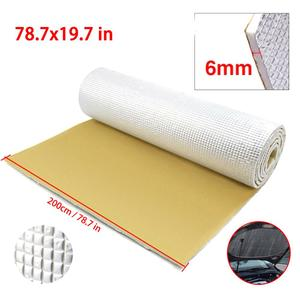 2020 High quality 6mm Thick Rubber Foam Car Auto Tailgate Sound Insulation Deadener Soundproof Mat Pad drop shipping