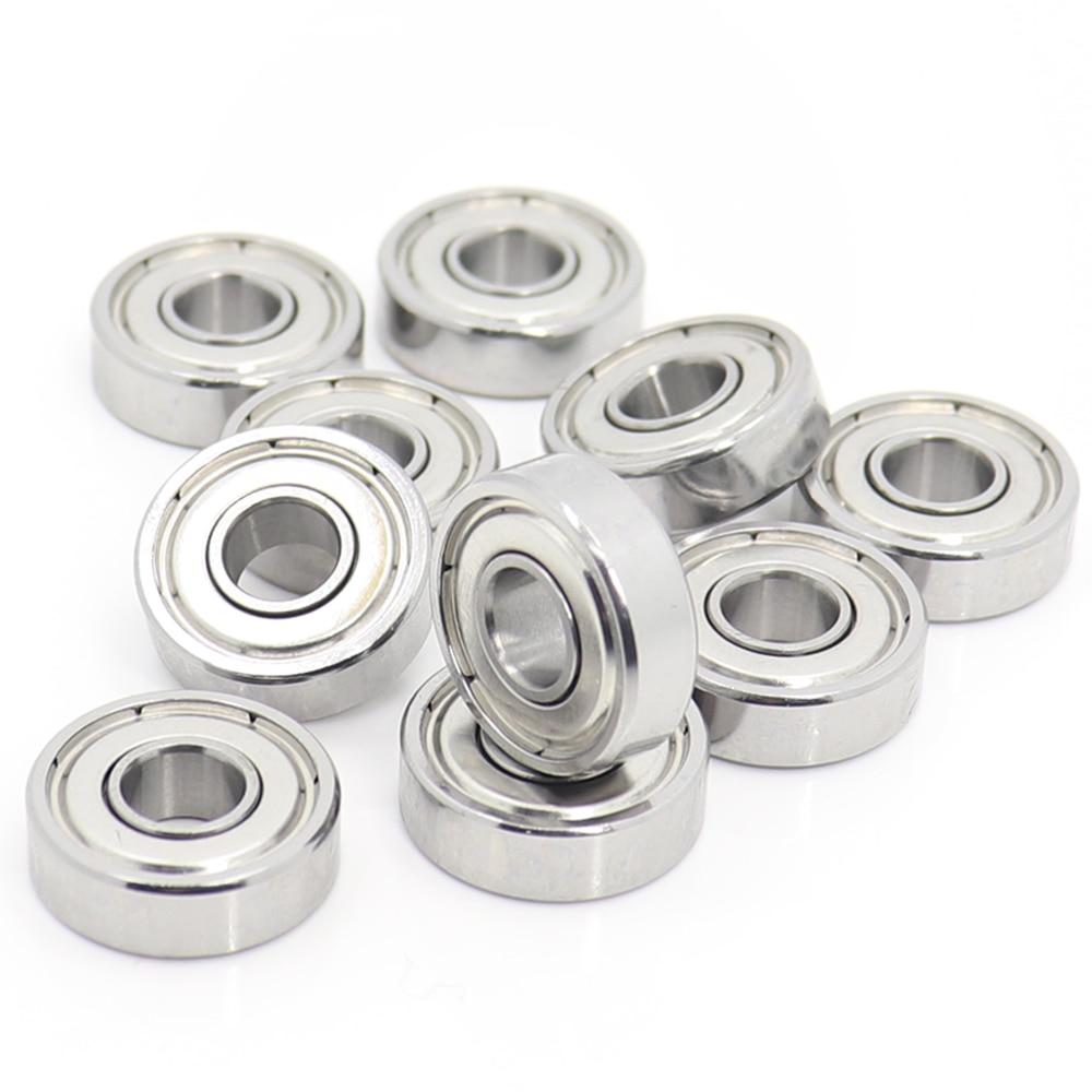 "R156ZZ ABEC-1 10PCS 3//16/""x5//16/""x1//8/"" inch Miniature Ball Bearing R156 ZZ Ball"