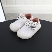 Casual Baby First Walkers Shoes For Kids Sports Toddler Shoes Baby Boys And Girls  Newborn Shoes Sneaker Anti-slip Leather Shoes недорого