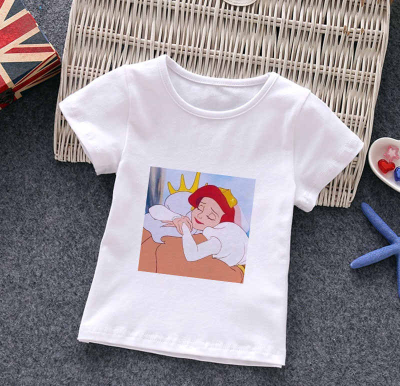 Fairy Baby Little Boys Airplane Printed Cotton Short Sleeve T Shirt Kids Tee Tops