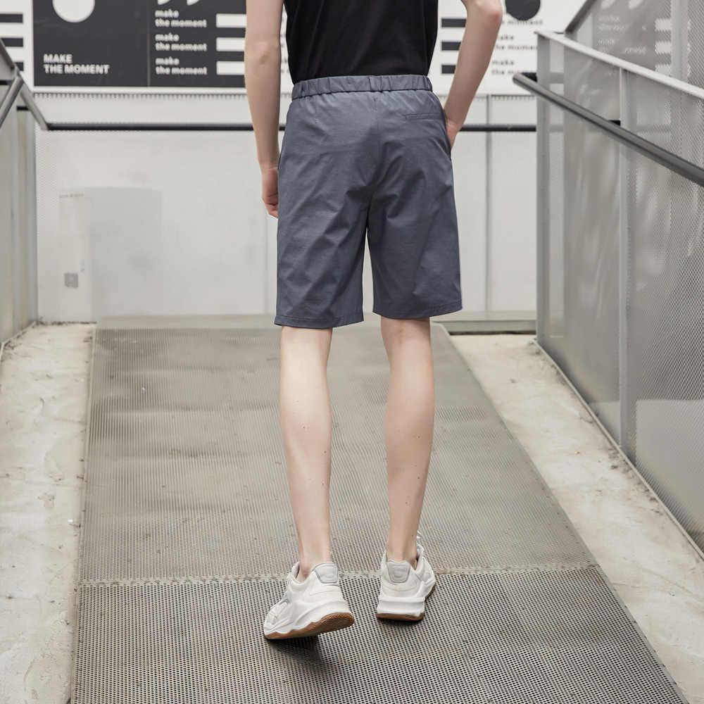 Metersbonwe 2020 חדש גברים של הקיץ מקרית קצר מכנסיים אופנה נוער רחוב מכנסיים קצרים מוצק צבע לנשימה תלמיד קצר מכנסיים