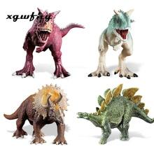 Jurassic World Park Brachiosaurus Tyrannosaurus Rex Plastic Dinosaur Toys Brontosaurus Model Action Figures Boys Christmas jm275
