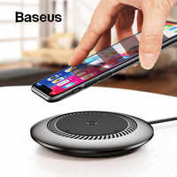 Baseus 10W Qi Wireless Charger for iPhone X XS MAX XR 8 Plus Fast Wireless Charging Pad for Samsung Galaxy S8 S9 Phone Charger