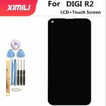 New original Touch Screen LCD Display LCD Screen For DIGI R2 Replacement Parts + Disassemble Tool+3M Adhesive