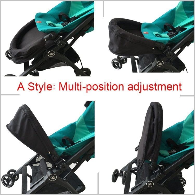 Image 5 - Baby stroller accessories extend footboard extension footrest footmuff for Goodbaby Pockit 2019/ Pockit plus/ Pockit+/ GB PockitStrollers Accessories   -