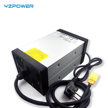 YZPOWER 14.6V 40A Lifepo4 lithium Battery Charger for 4S 12V 80AH 100AH 200AH Lifepo4 lithium Ebike Battery with 4Cooling Fan