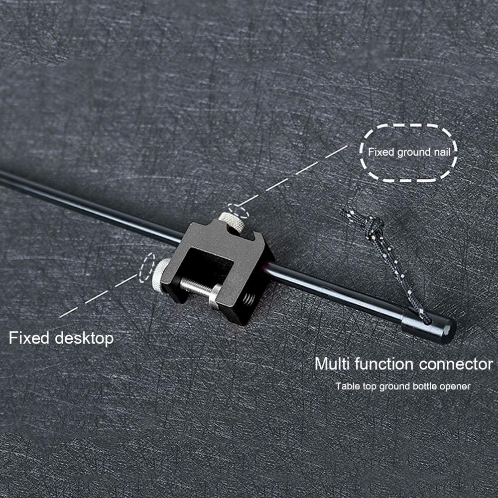 Multifunctional Outdoor Camp Lamp Pole Kit 5